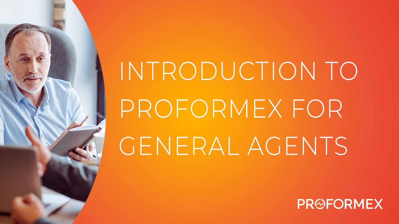 Introduction to Proformex for General Agents