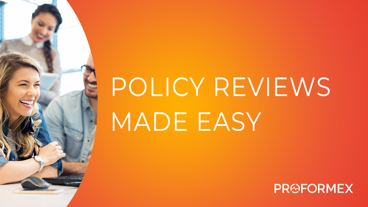 Policy Reviews Made Easy