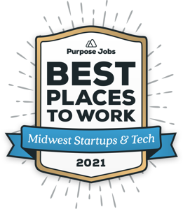 Purpose Jobs Best Places To Work 2021 Badge